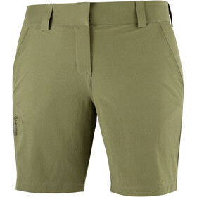 Salomon Wayfarer Shorts Women, martini olive